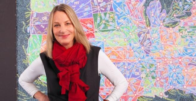 Paula Scher - Grafik Tasarımcı
